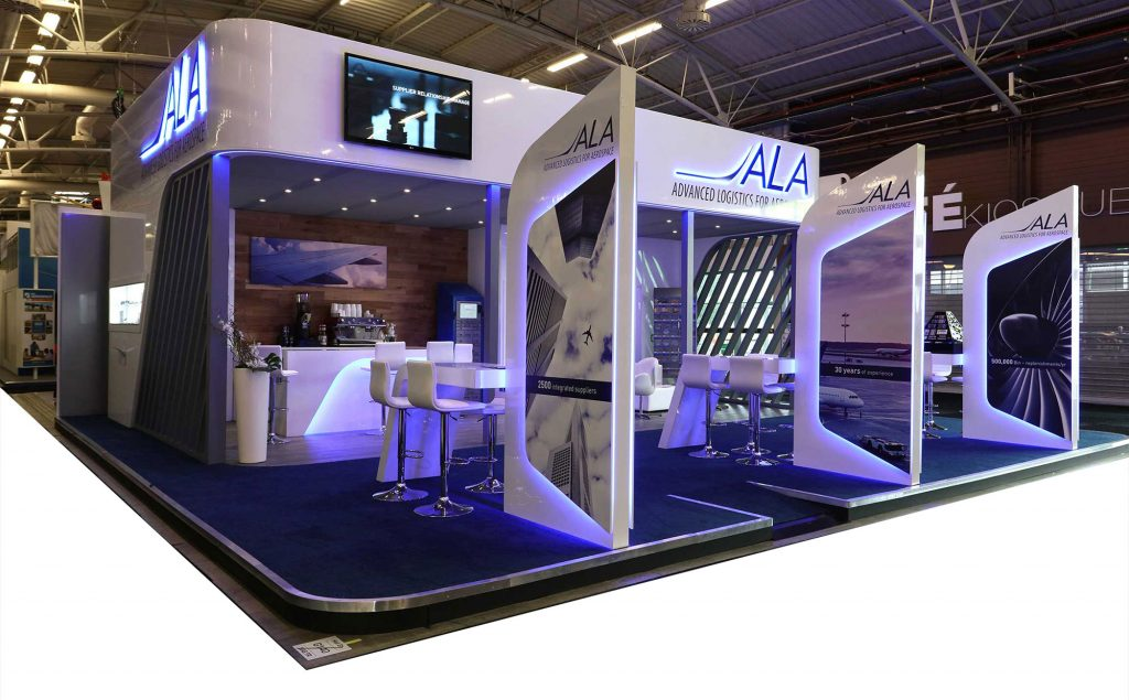 Exhibition Stand Design Case Studies : Exhibition design and build case study ala spa priority