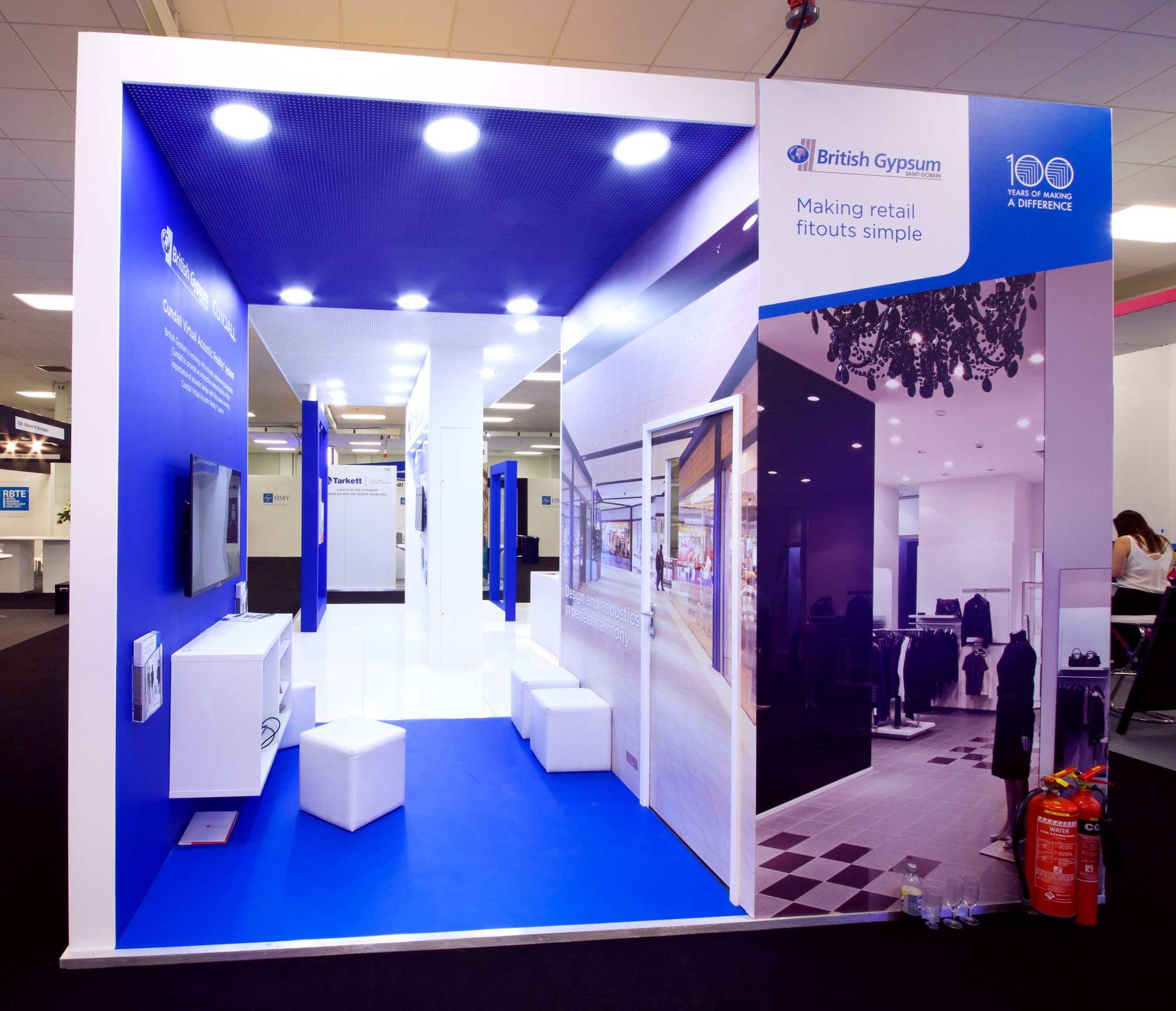 Simple Exhibition Stand Mixer : British gypsum exhibition case study priority exhibitions