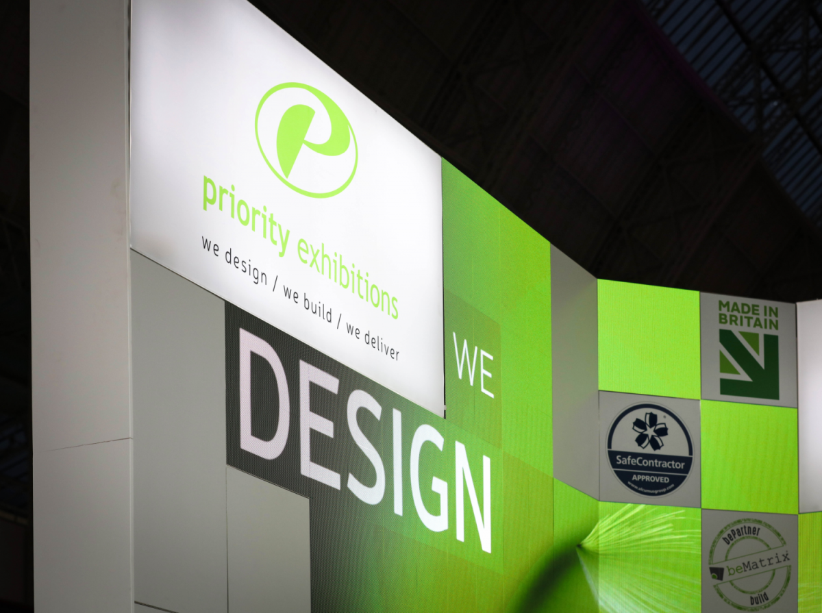 Priority Exhibitions Confex Stand