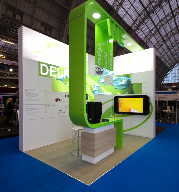 Confex Exhibition Stand Priority Exhibitions